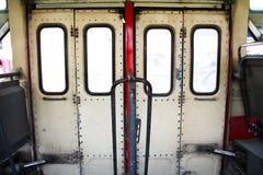 公共汽车门 库存图片