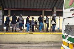 公共汽车总站 图库摄影