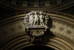 公共浴室布达佩斯 免版税库存图片