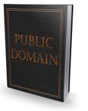 公共领域书 免版税库存图片