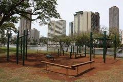公共锻炼地区 免版税库存图片