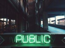公共 免版税库存照片