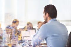 公司业务会议 免版税库存照片