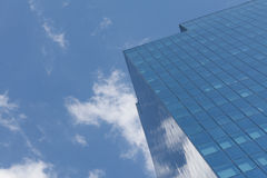公司业务的摩天大楼、标志和财务 库存图片