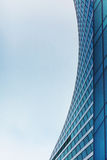 公司业务的摩天大楼、标志和财务 免版税图库摄影
