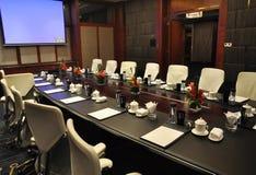 公司会议空间 免版税库存图片