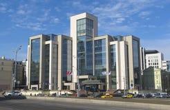 公司卢克石油的行政大厦 库存照片