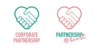 公司合作企业成功的握手贸易成交传染媒介象 库存照片