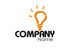 公司商标设计模板 图库摄影