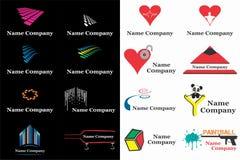 公司商标设计 库存图片