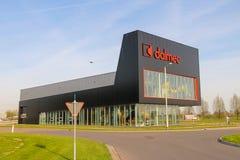 公司的办公室Dalmec在Meerkerk的郊区,下面 图库摄影