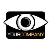 公司眼睛徽标 免版税库存照片