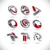 公司符号。 图库摄影