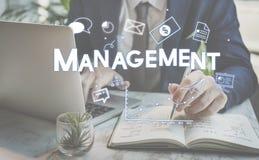 公司管理战略解答烙记的概念 库存照片