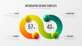 公司营销逻辑分析方法数据报告创造性的设计版面 皇族释放例证