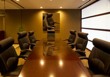公司行政人员办公室会议室