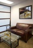 公司行政人员办公室空间内部 免版税库存图片