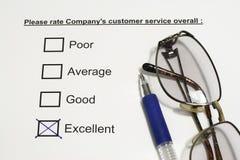 公司顾客服务 免版税图库摄影
