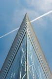 公司玻璃和钢在DÃ ¼ sseldorf 库存图片