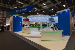 公司TP链接立场  免版税库存照片
