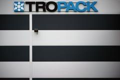 公司Tropack干燥剂 库存照片