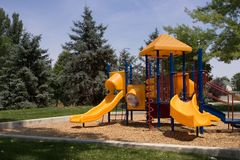 公园作用 库存照片
