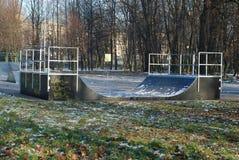 公园冰鞋 免版税库存图片