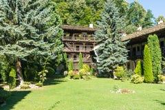 公园区域特罗扬修道院,保加利亚 库存图片