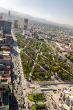 公园和墨西哥城 库存图片