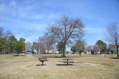 公园和野餐区 免版税库存照片