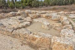 公园在以色列 samaria 免版税库存图片
