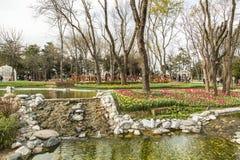 公园在伊斯坦布尔 免版税图库摄影