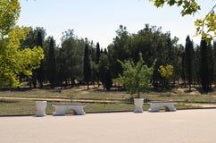 公园在克里米亚 库存图片
