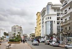 公园在卡萨布兰卡 闹事 摩洛哥 免版税图库摄影