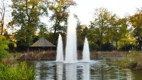 公园在卢森堡市 股票录像