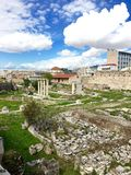 公园在希腊 免版税库存图片