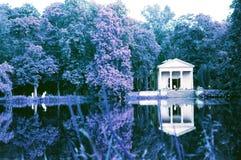 公园在阿卡迪亚 库存图片