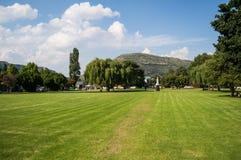 公园在Clarens,自由州,南非 库存图片