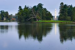 公园在Lednice 库存照片