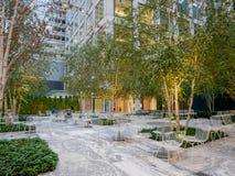 432公园大道现代大厦,曼哈顿 免版税库存照片