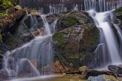 公园小的瀑布 免版税库存照片