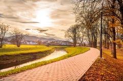 公园散步在Pozega 图库摄影