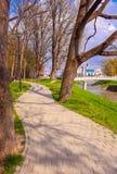公园散步在Pozega 免版税库存照片