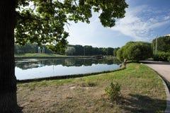 公园池塘 图库摄影
