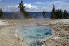 公园池热量美国黄石 免版税图库摄影