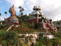公园泰国tenerife 免版税库存图片
