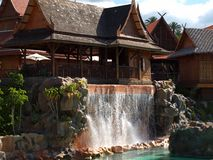 公园泰国tenerife 库存图片