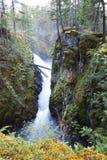 公园瀑布 免版税图库摄影