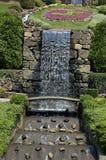 公园瀑布 库存照片