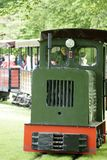 公园火车布里茨庭院 图库摄影